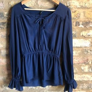 Guess By Marciano Blue Shirt long sleeve stretch S
